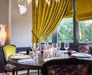 Rideaux & stores au restaurant «La villa Eugène» à Caen