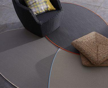 tapis extérieur Dickson avec finition galon