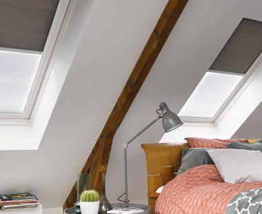 store plissé chassis de toit Luxaflex